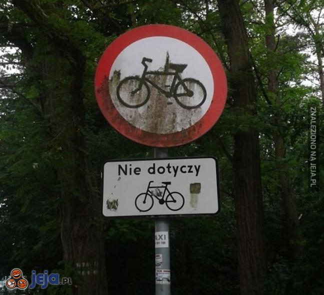 Problemy rowerzystów