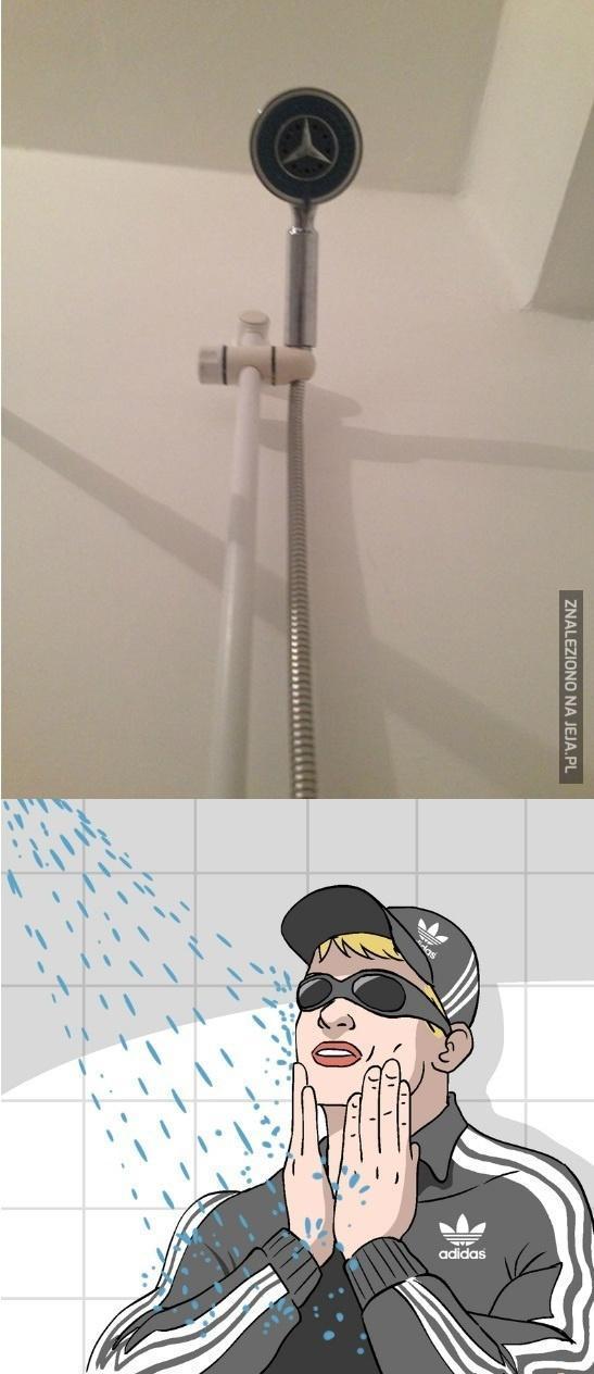 Markowy prysznic, o taaak!
