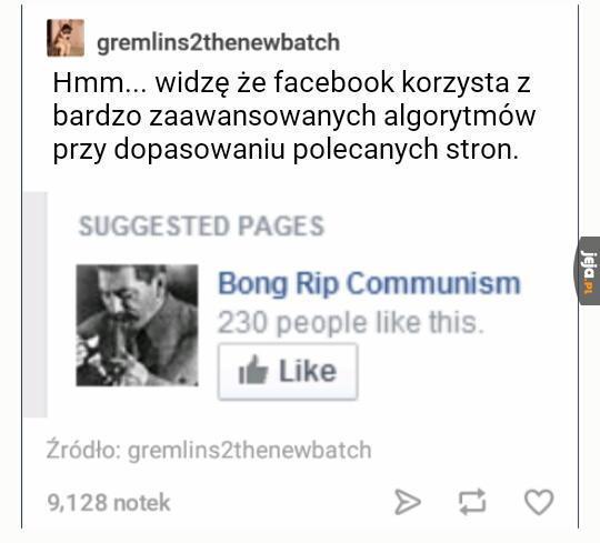 Ach, ten Facebook...