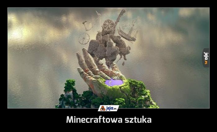 Minecraftowa sztuka