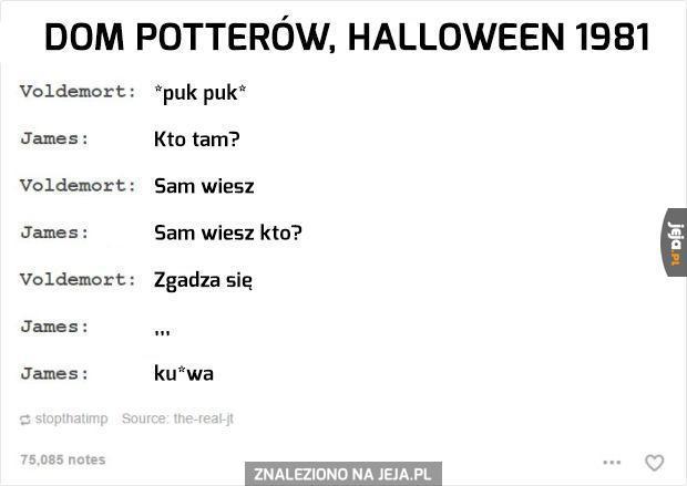 Voldemort śmieszek na Halloween