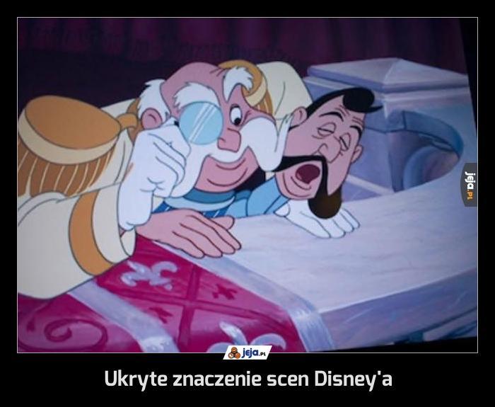 Ukryte znaczenie scen Disney'a