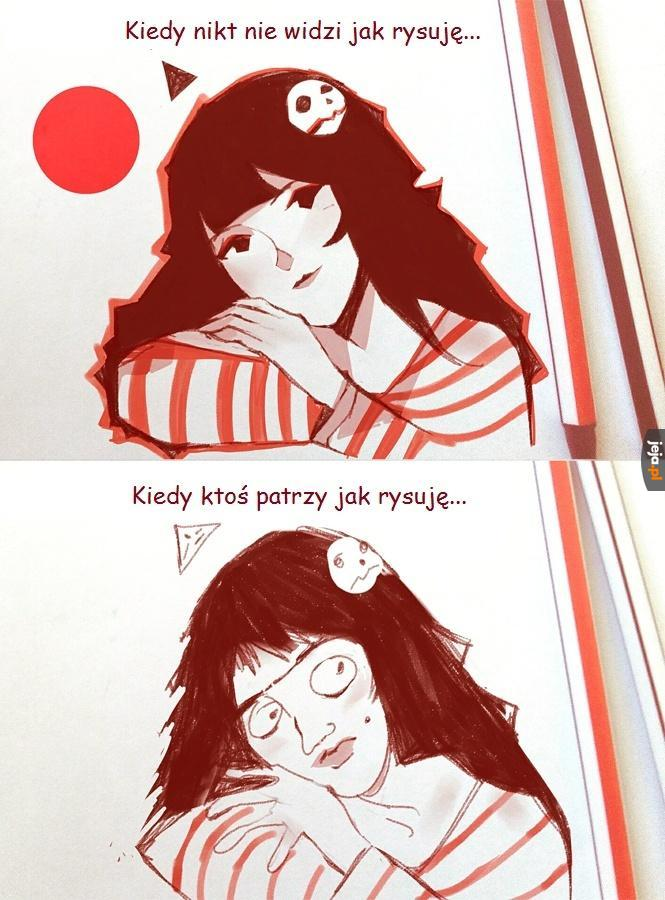 Problemy rysowników