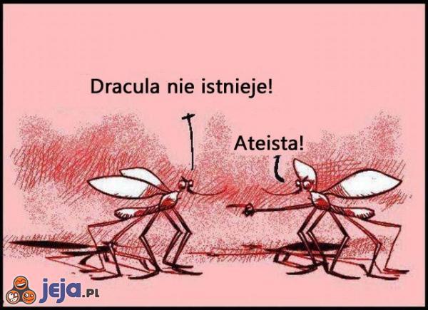 Ateizm u komarów