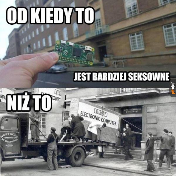 Prawdziwe komputery mają gabaryty!