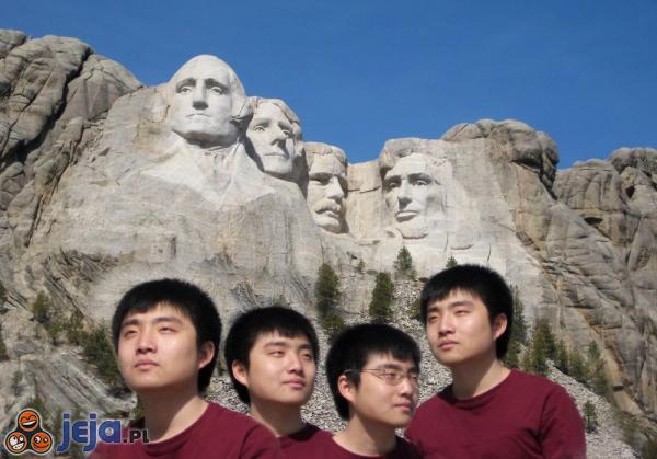 Chińskie rodzeństwo na wakacjach w USA