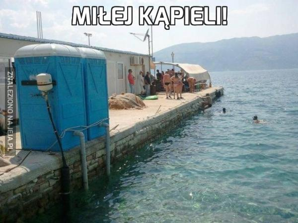 Miłej kąpieli!