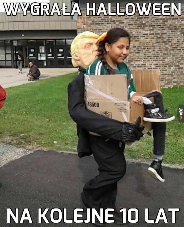 Mistrzyni kostiumu na Halloween