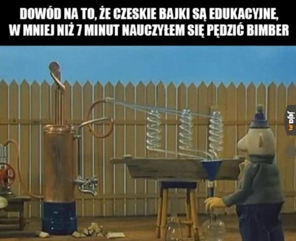 Bajki bawią i uczą