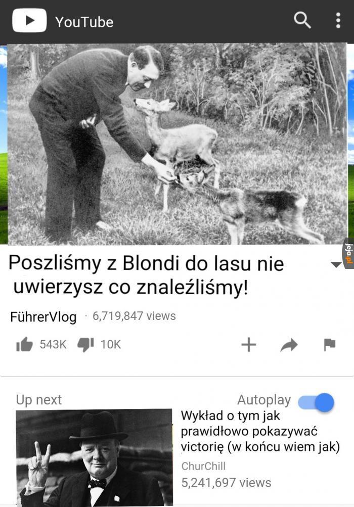 Słynny youtuber
