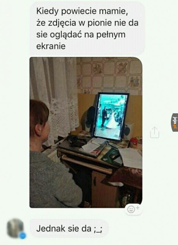 Moja mama jest hakerem