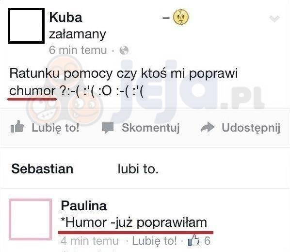 Zepsuty (c)humorek