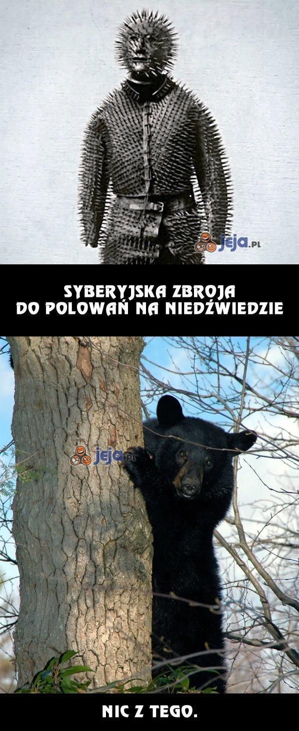Syberyjska zbroja do polowań na niedźwiedzie