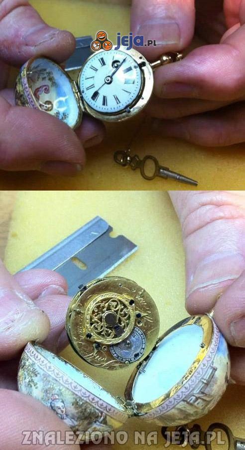 Zegarek kieszonkowy z 1620 roku