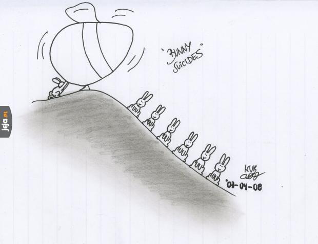 Samobójstwa zajączka: Jajko wielkanocne