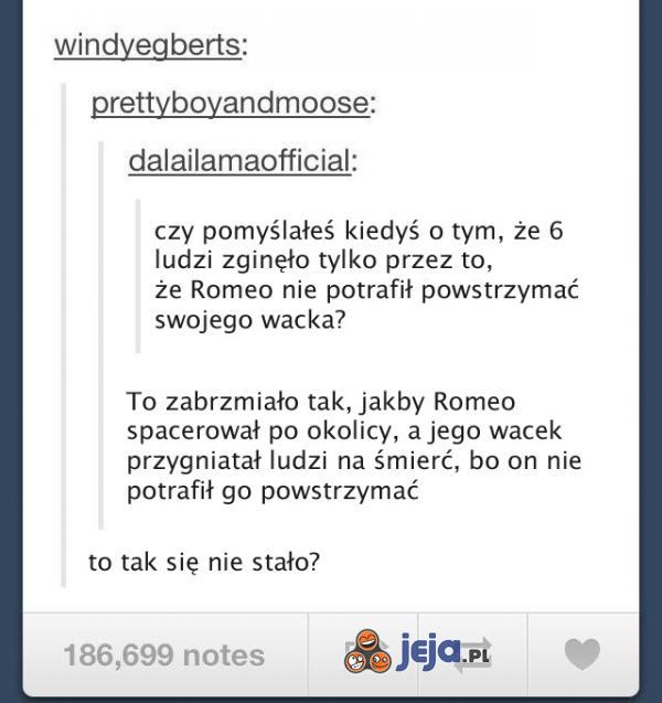 Romeo i Julia - true story?