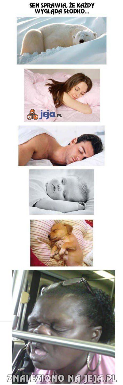 Wszyscy tak słodko śpią...