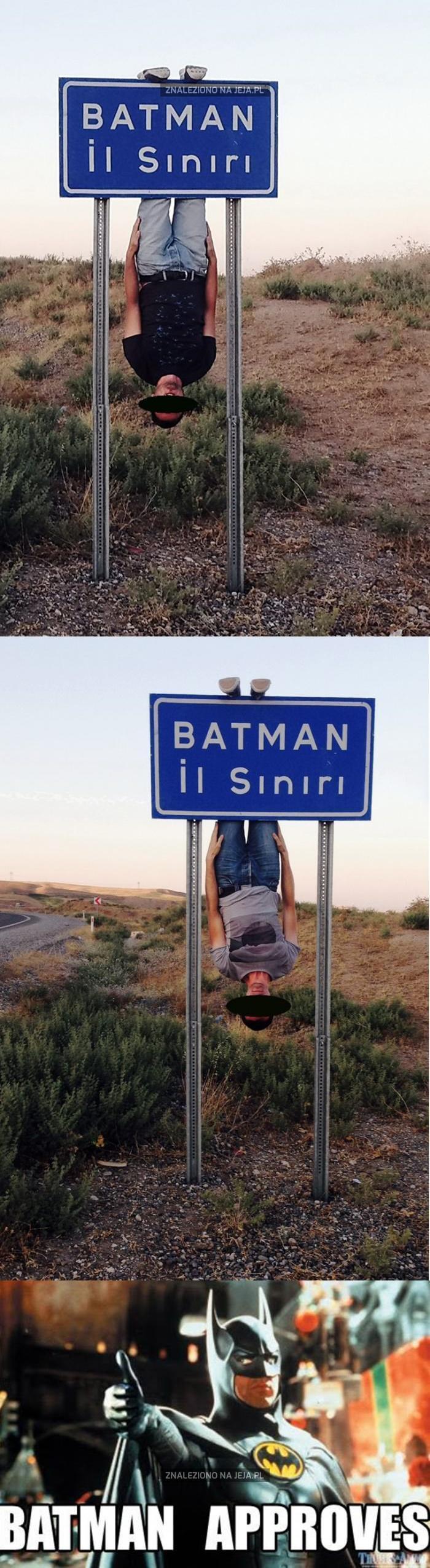 Szybko, do Batmana!