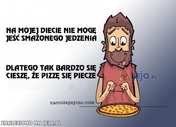 Na szczęście mogę jeść pizzę
