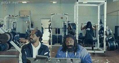 Gdy masz mnóstwo energii na siłowni