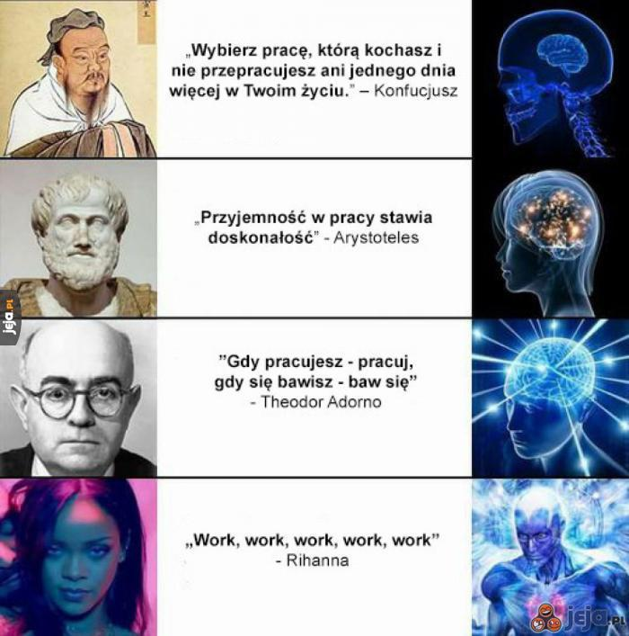 Mądrości o pracy