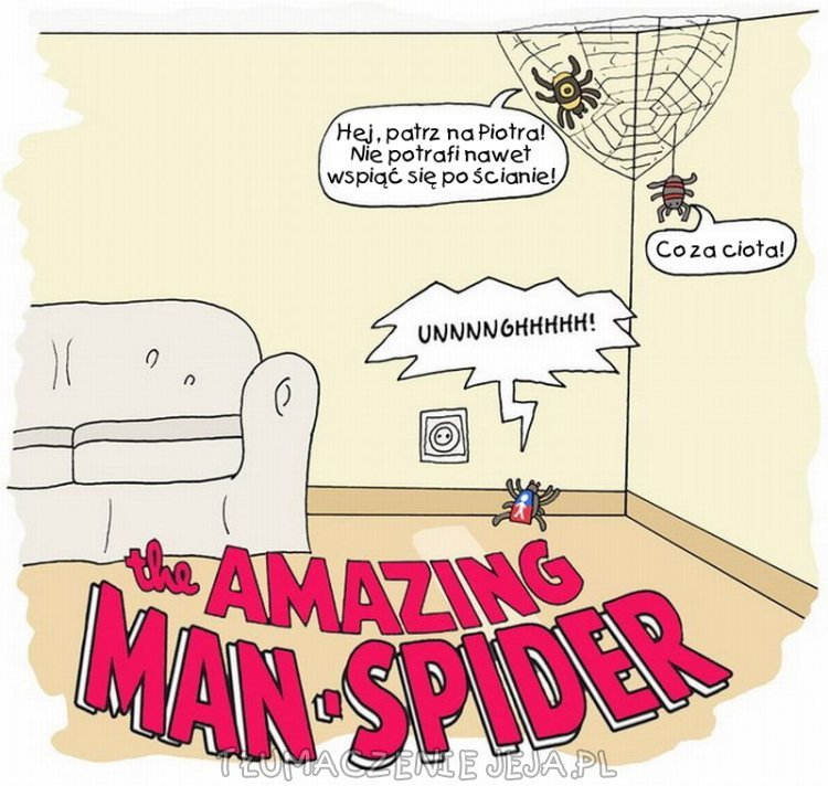 Niesamowity człowiek-pająk