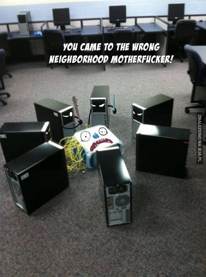 Trafiłeś do złego biura!
