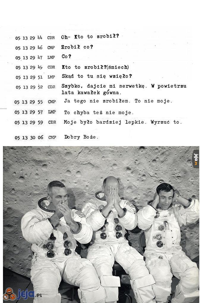 Podczas misji Apollo 10...