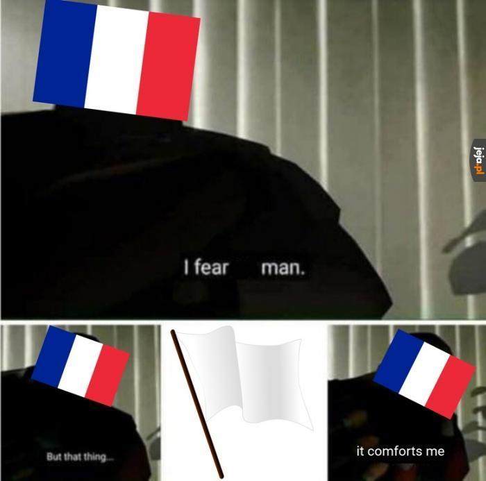 Francja tak ma