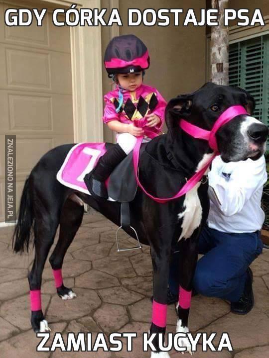 Gdy córka dostaje psa