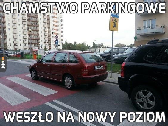 Chamstwo Parkingowe