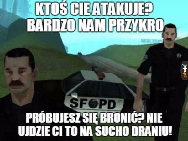 Policja w grach