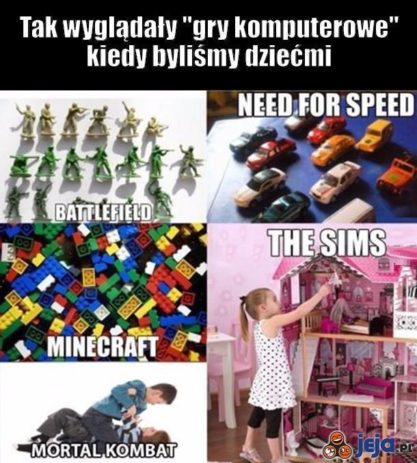 Gry z dzieciństwa