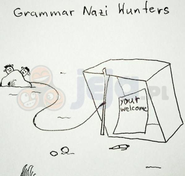 Łowcy gramatycznych nazistów