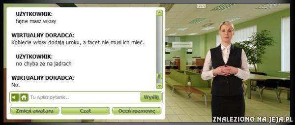 Rozmowa z wirtualnym doradcą
