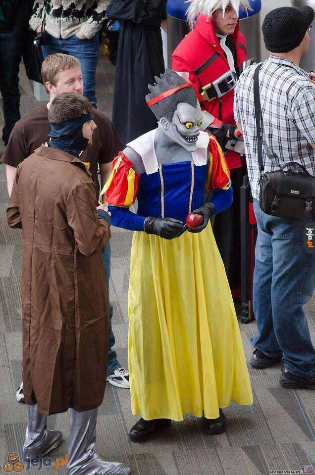 Przepraszam, czyj to cosplay?