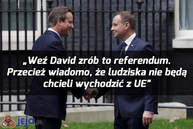David, nie cykaj się!