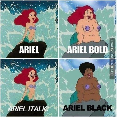 Ariel?