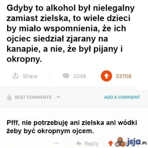 Zielsko czy alkohol?