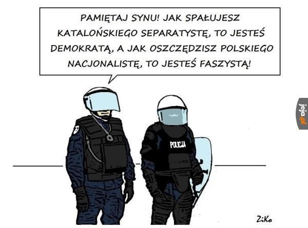 Ciężkie życie policjanta