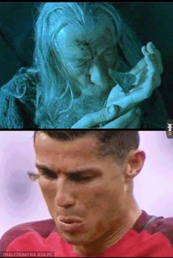 Leć mała, do Ronaldo