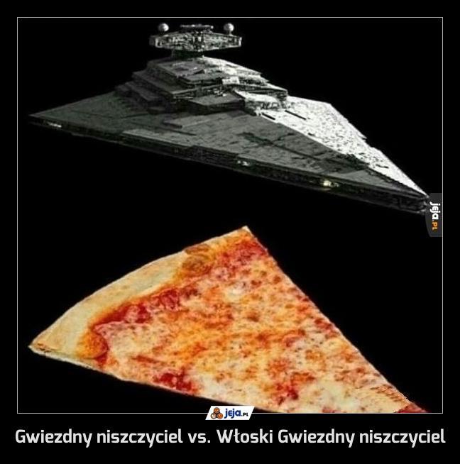 Gwiezdny niszczyciel vs. Włoski Gwiezdny niszczyciel