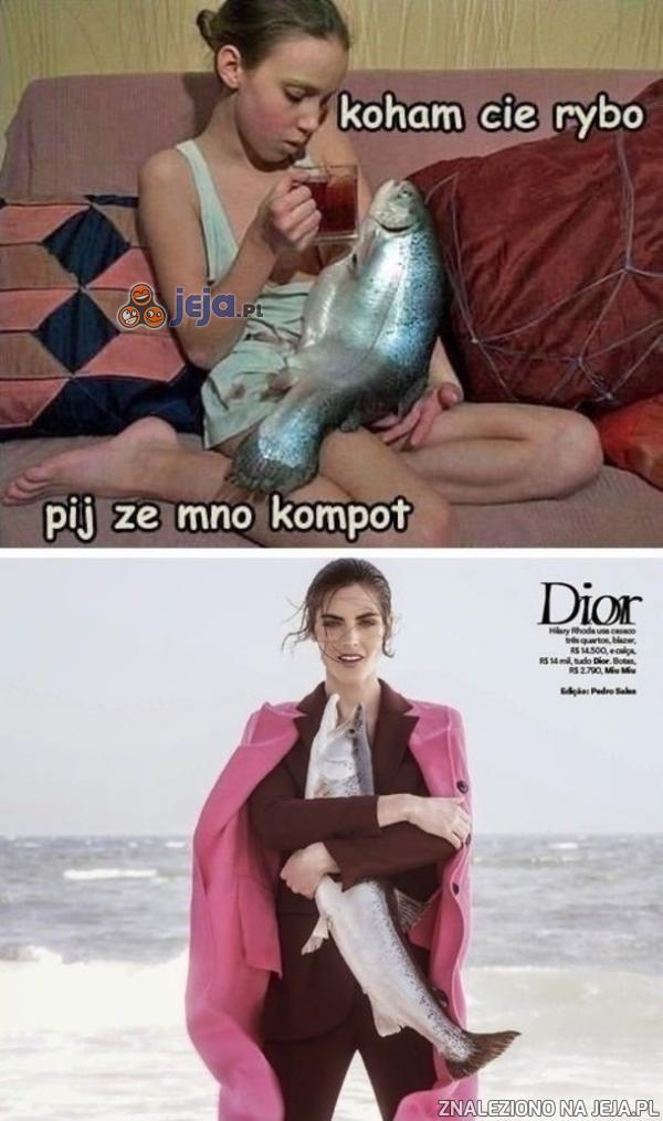 Kocham cię rybo