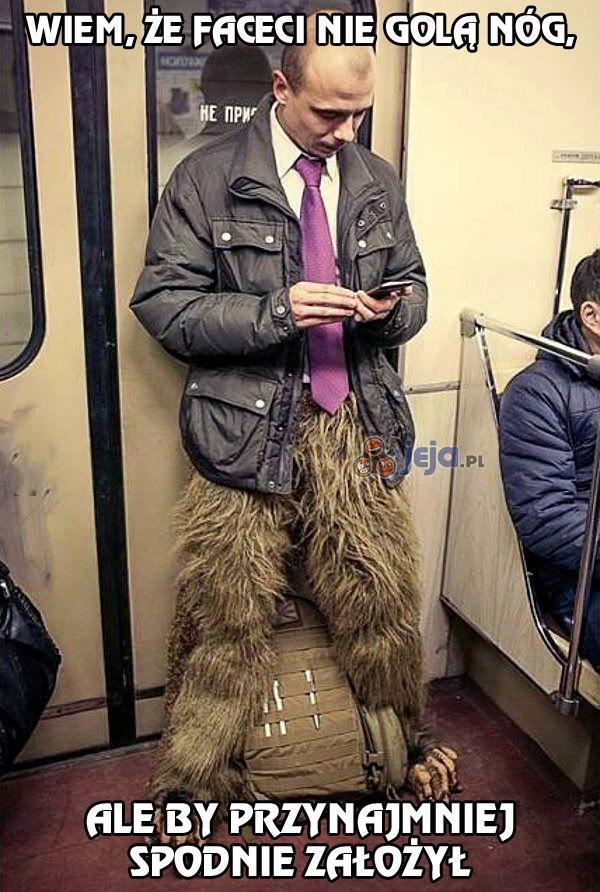 Zboczeniec w rosyjskim metrze