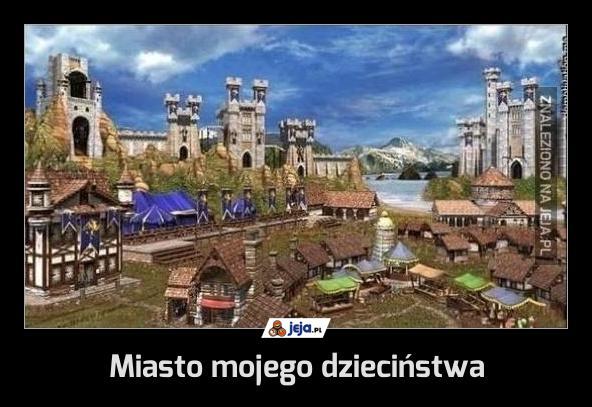 Miasto mojego dzieciństwa