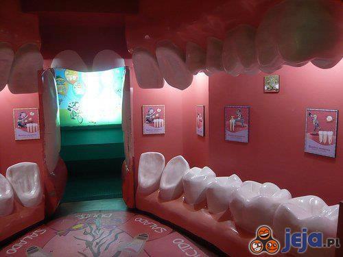 Poczekalnia u dentysty