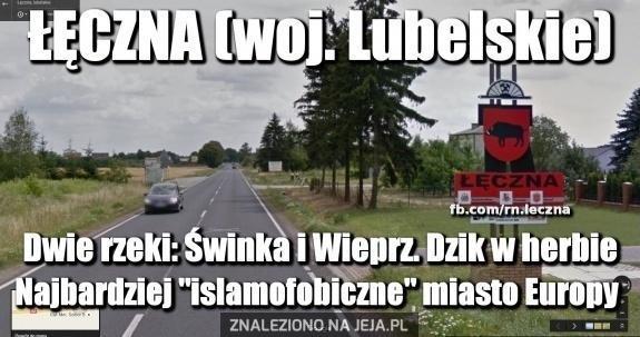 Łęczna wita islamistów