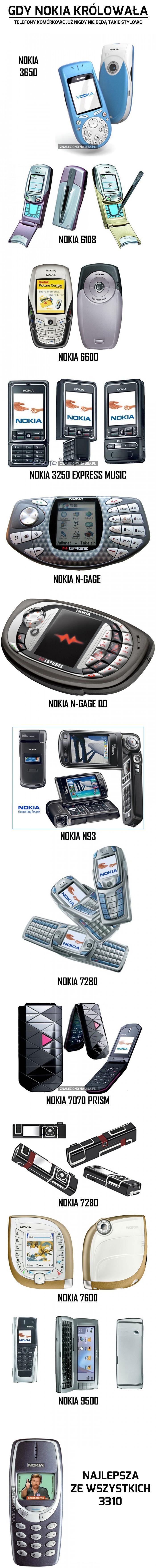 Gdy Nokia królowała