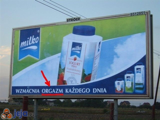 Reklama mleka