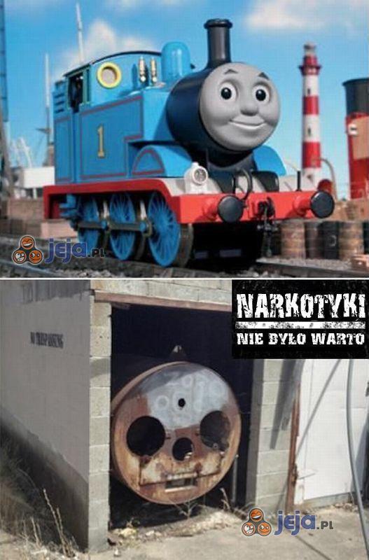 Tomek lokomotywa po latach...